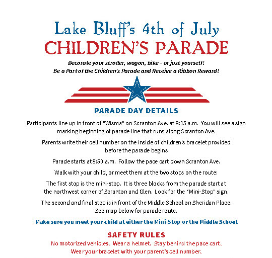 2017 Childrens parade info