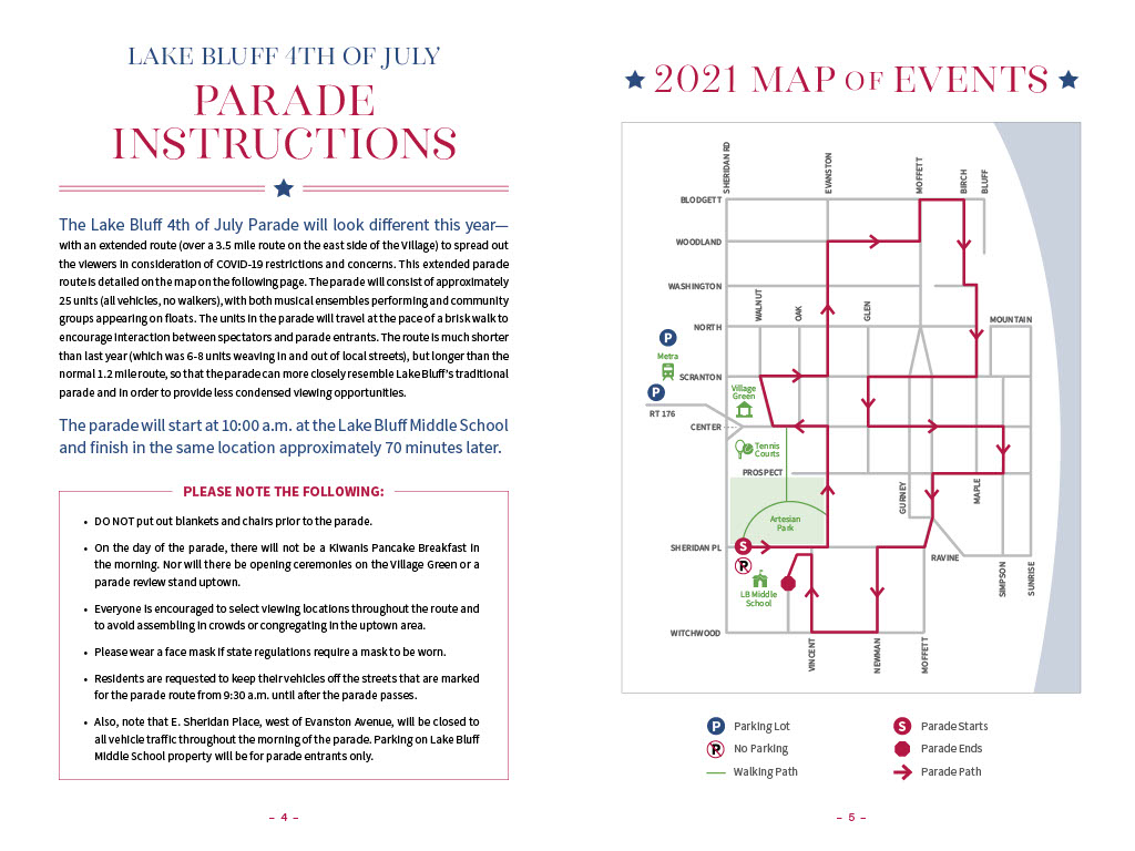LB4July 2021 Instructions and Map